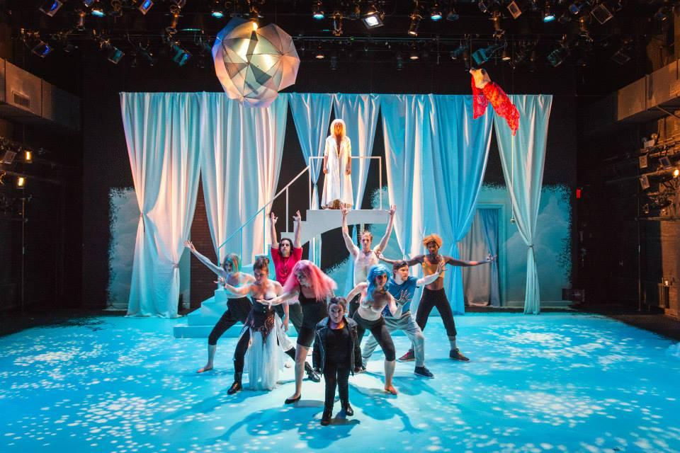 Joy in A Midsummer Night's Dream at The New School for Drama