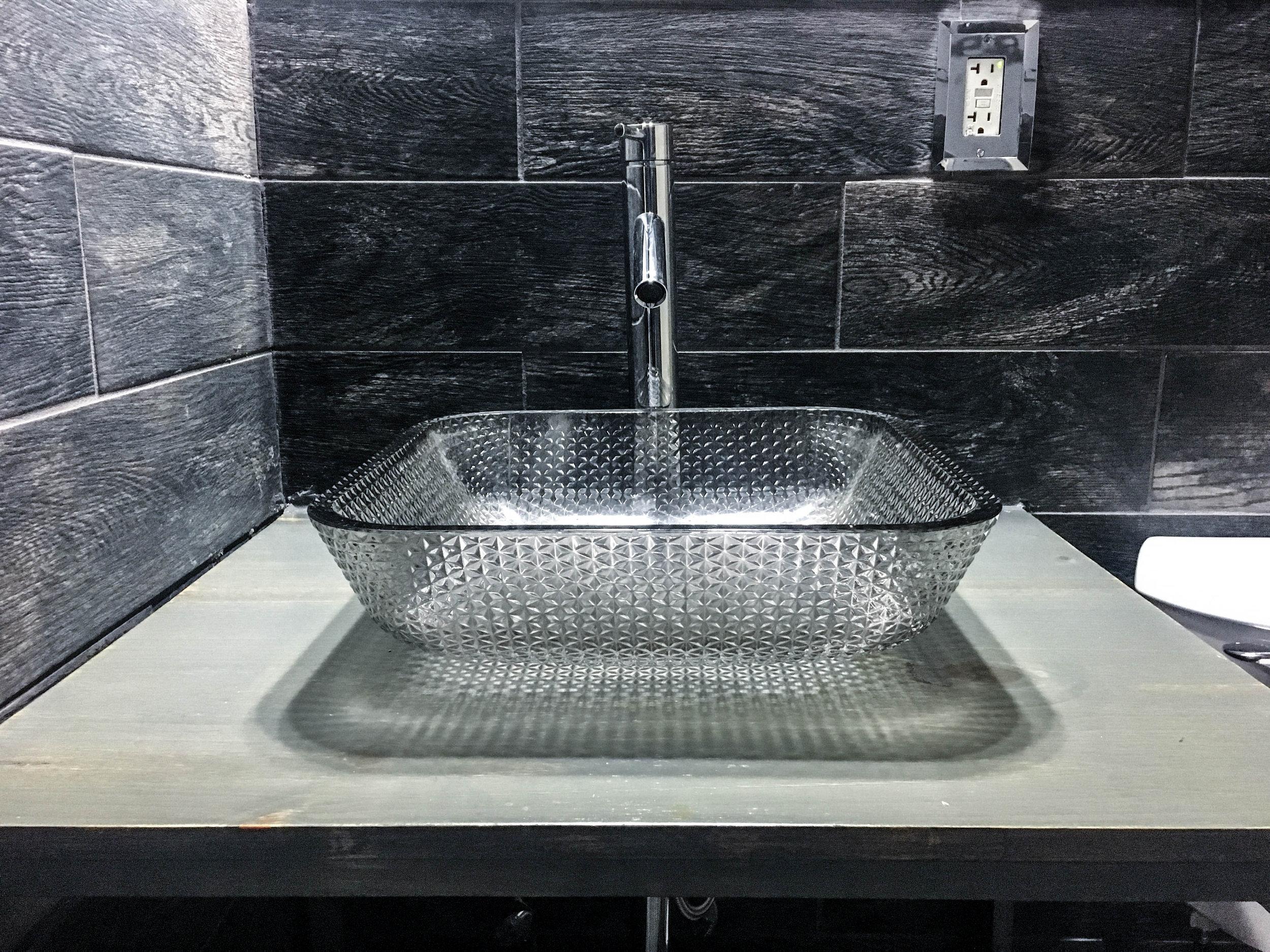 Creative X Soul Bathroom with custom Vanity