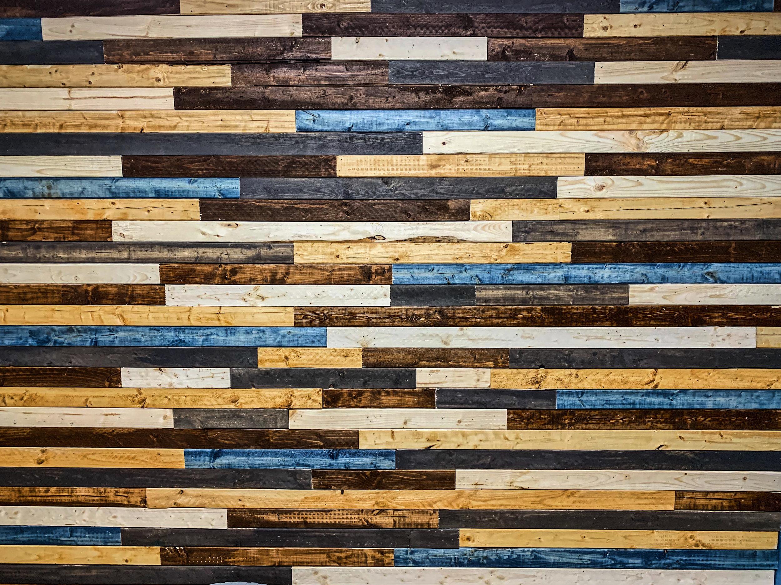 Custom Wood Accent Walls