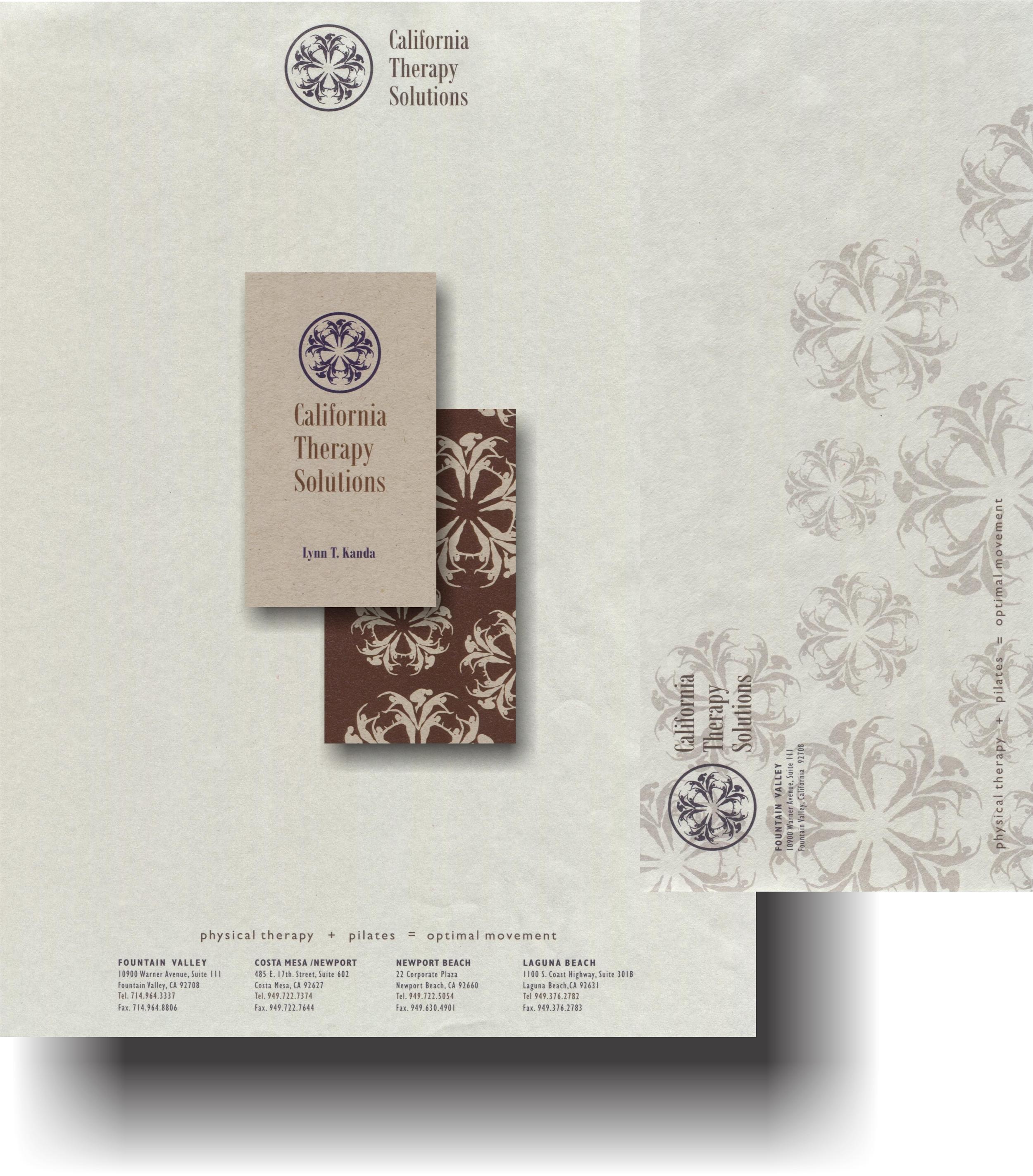 CTS Letterhead & Card