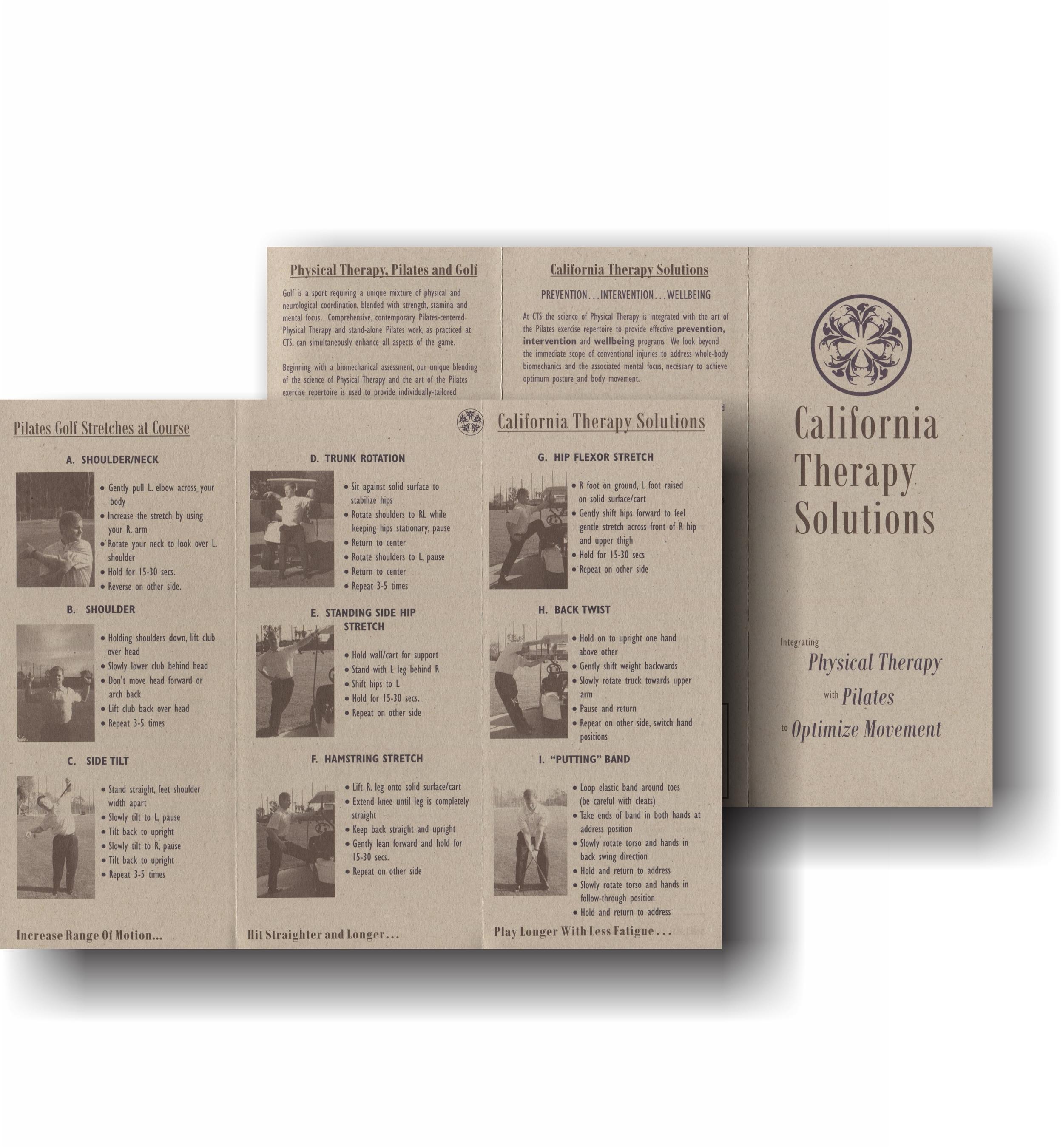 CTS Golf Brochure