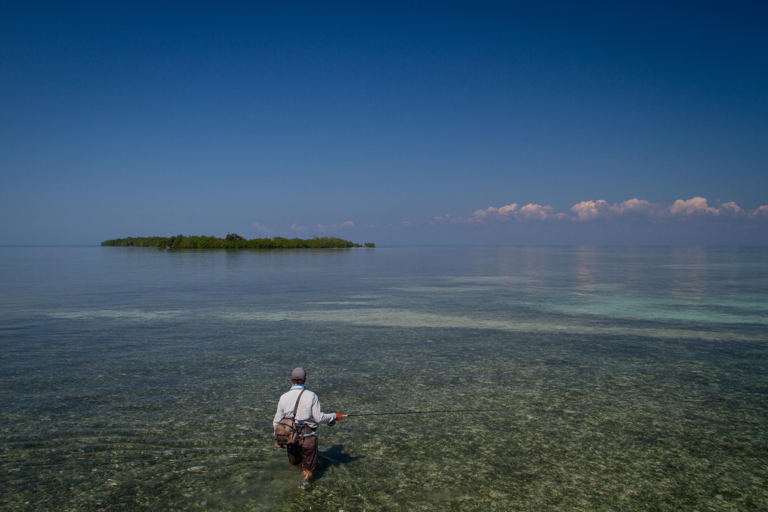 Fly Fishing for Permit, Jardines de la Reina, Cuba