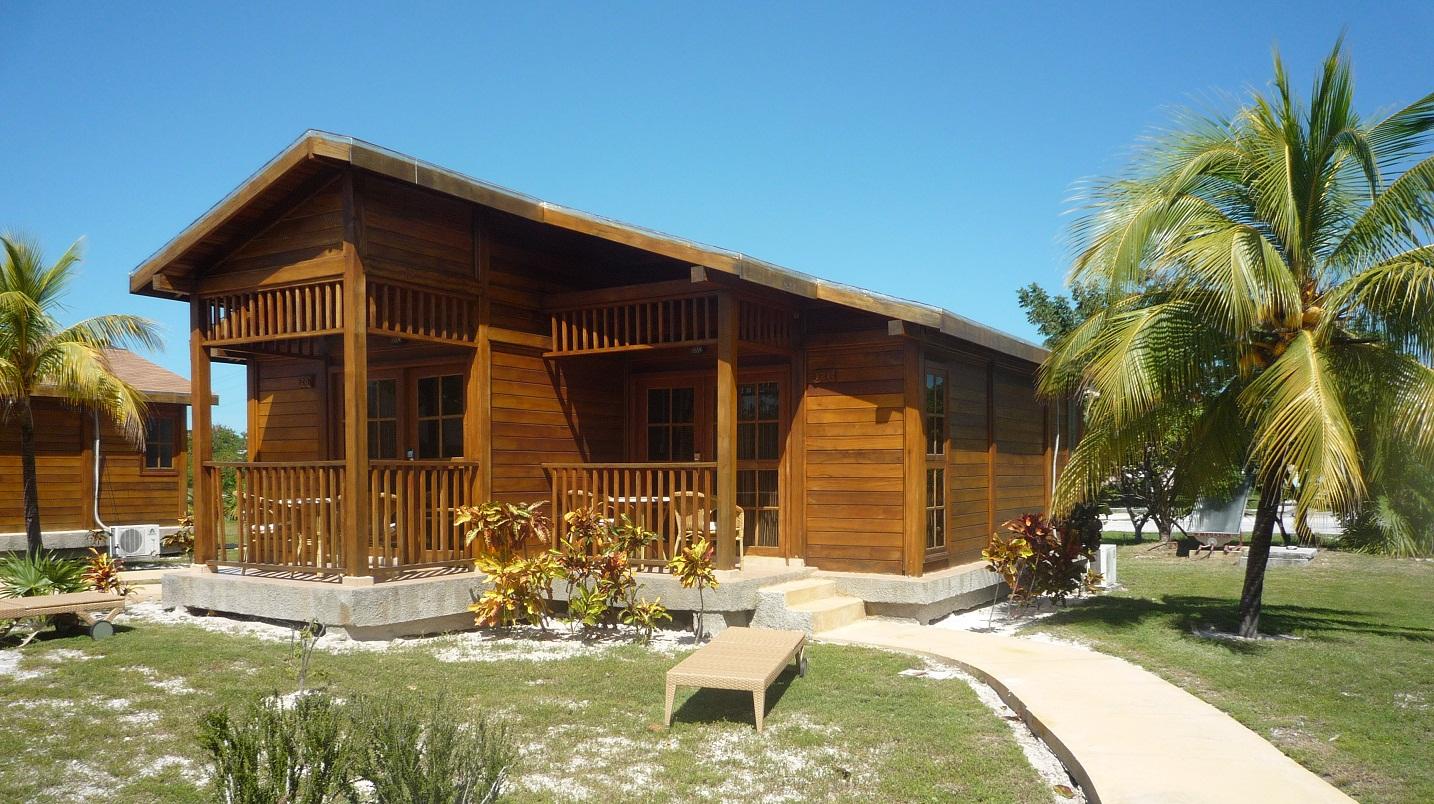 Guest cabin at Villas Marinera