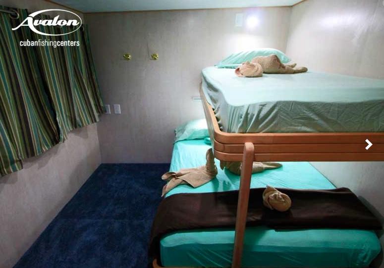 Accommodations aboard AF1