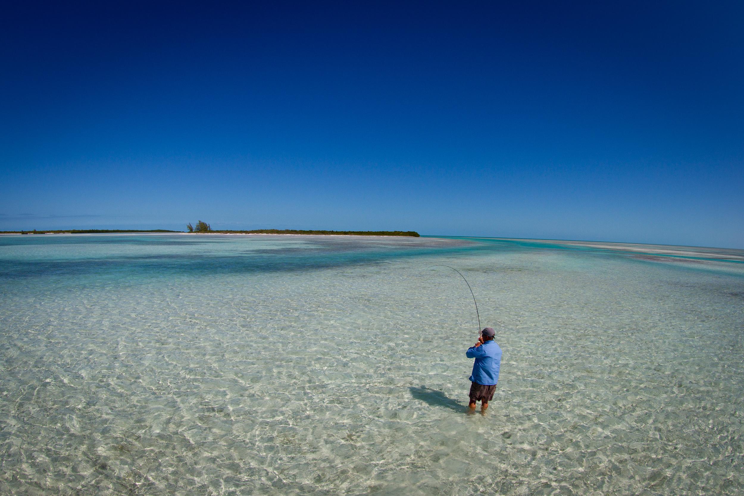 Hard sand Bonefish flat, Cayo Largo, Cuba