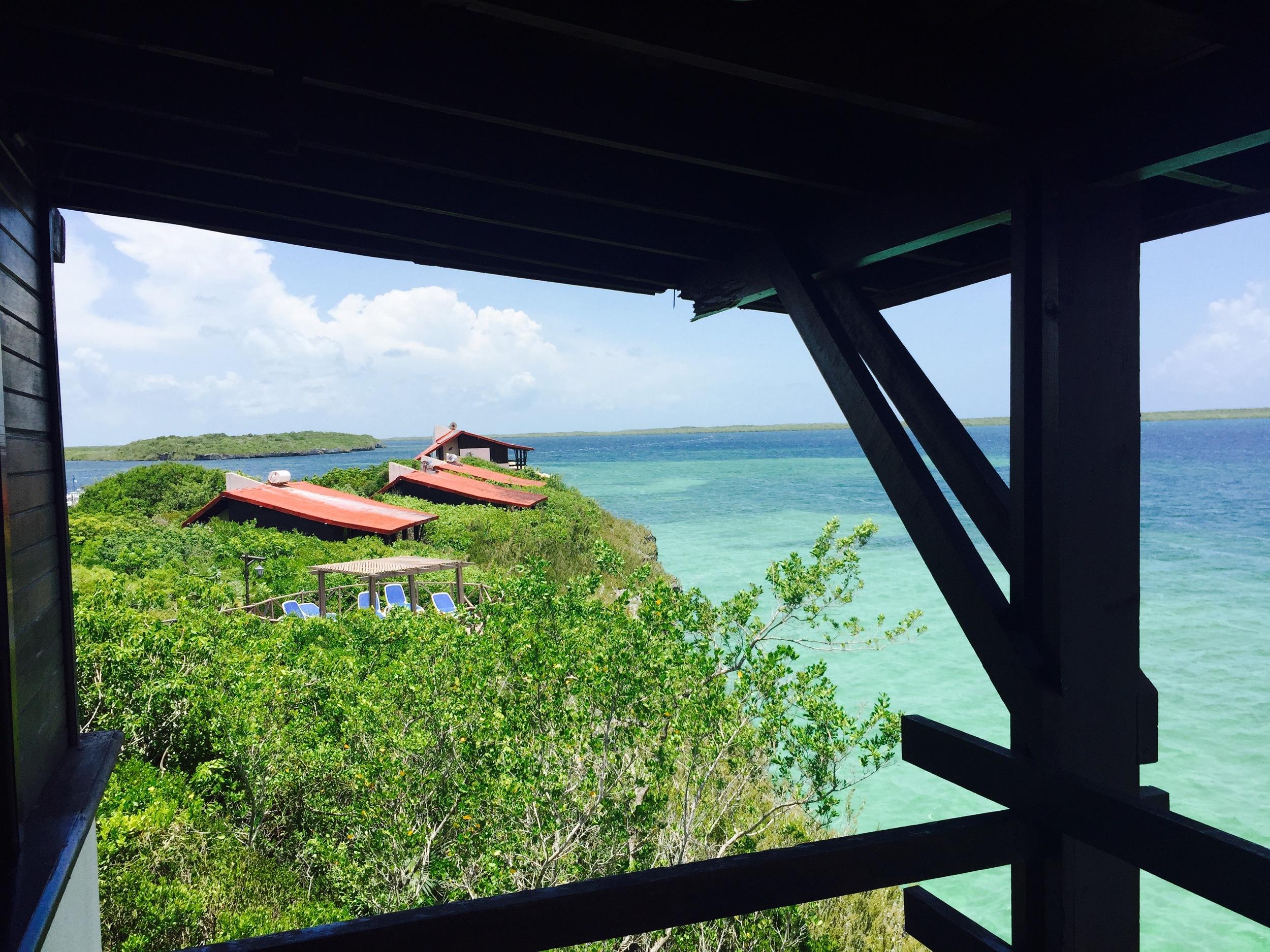 View from Villa Las Brujas, Cayo Santa Maria, Cuba