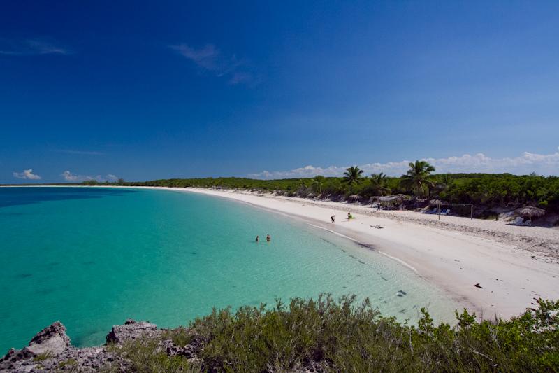 Beach adjoining Villas las Brujas, Cuba