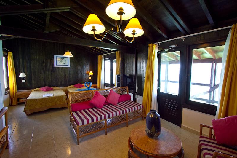 Room interior at Villas Las Brujas