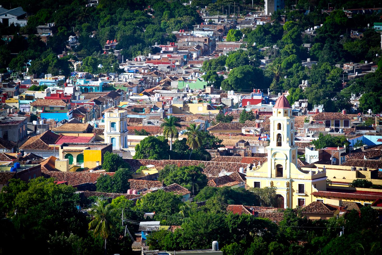 View of the main square, Trinidad, Cuba