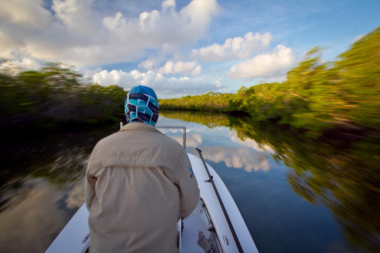 Fly Fishing for Tarpon, Gardens of the King, Cuba