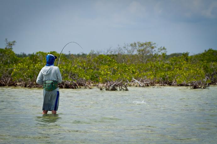 First ever Bonefish for Teddy, Cayo Cruz, Cuba