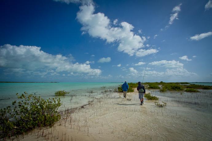 Backcountry Bonefish exploration, Cayo Cruz, Cuba