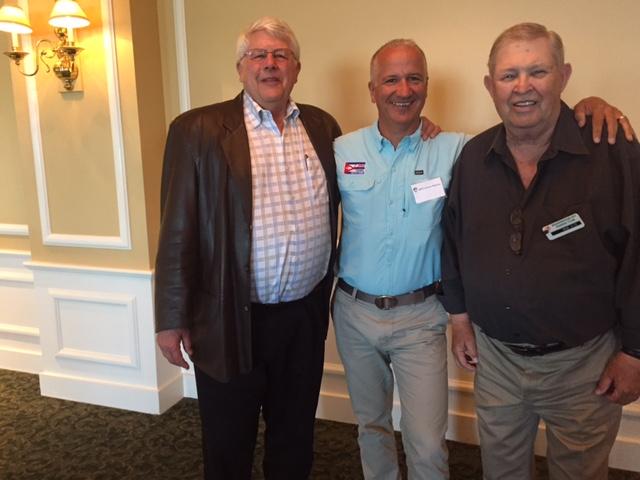 Don Barton, Myself, and Bob Aide