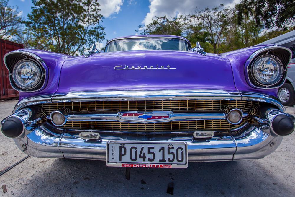 Classic American Chrome in Havana
