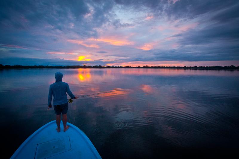 Lagoon Sunset, Jungle Tarpon, Costa Rica