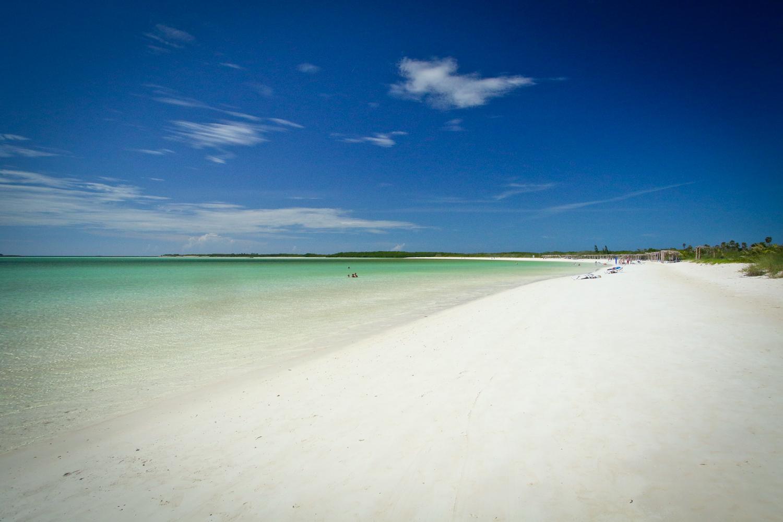 Wow. The beach at Cayo Ensenachos is stunning.