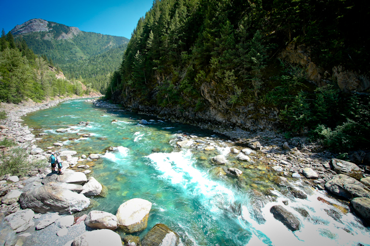 The Bull River......an hour from Fernie.