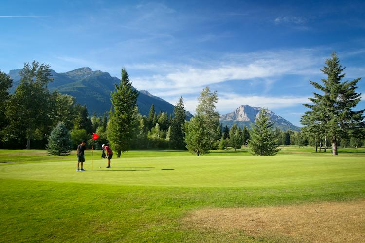 Golf Break.....Fernie Country Club