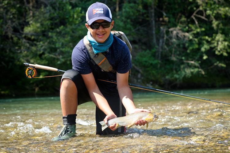 Greger and Elk River Cutthroat