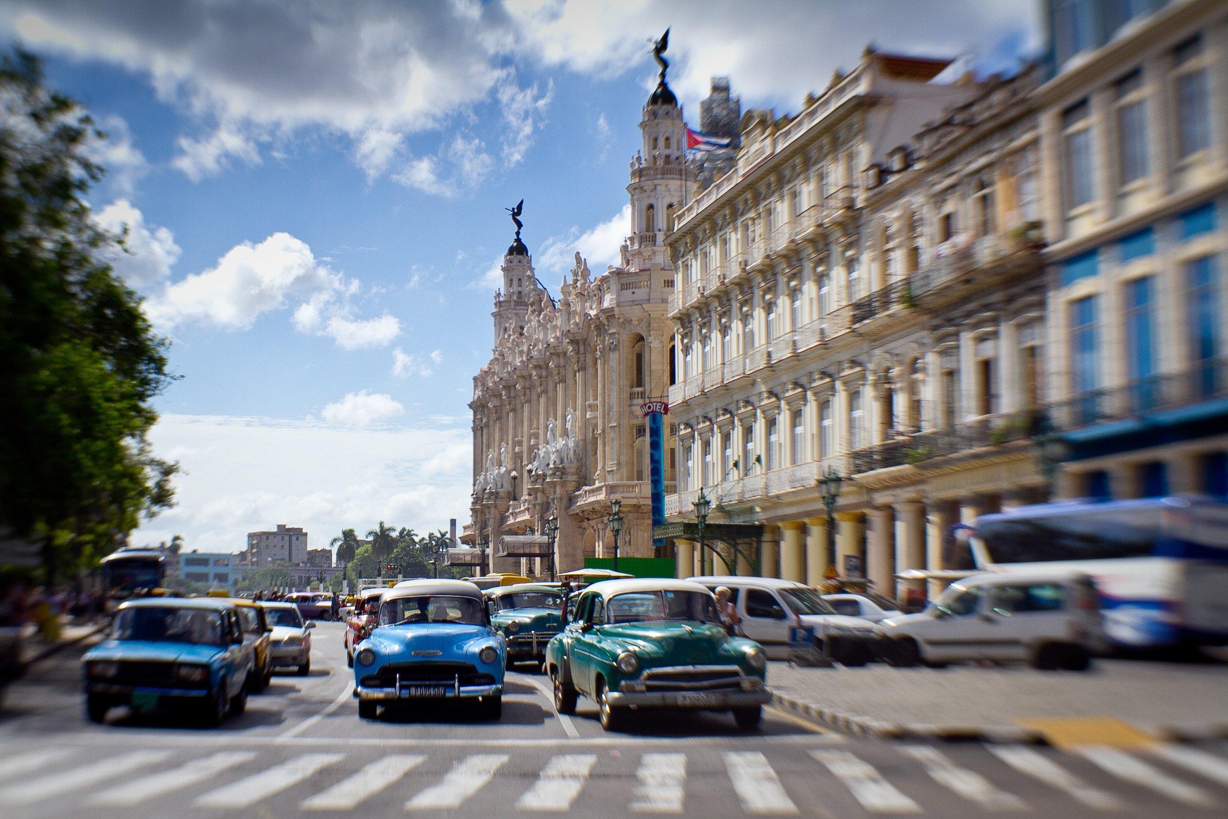 Time warp in La Habana