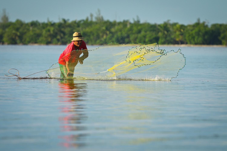 Bay of Pigs fisherman