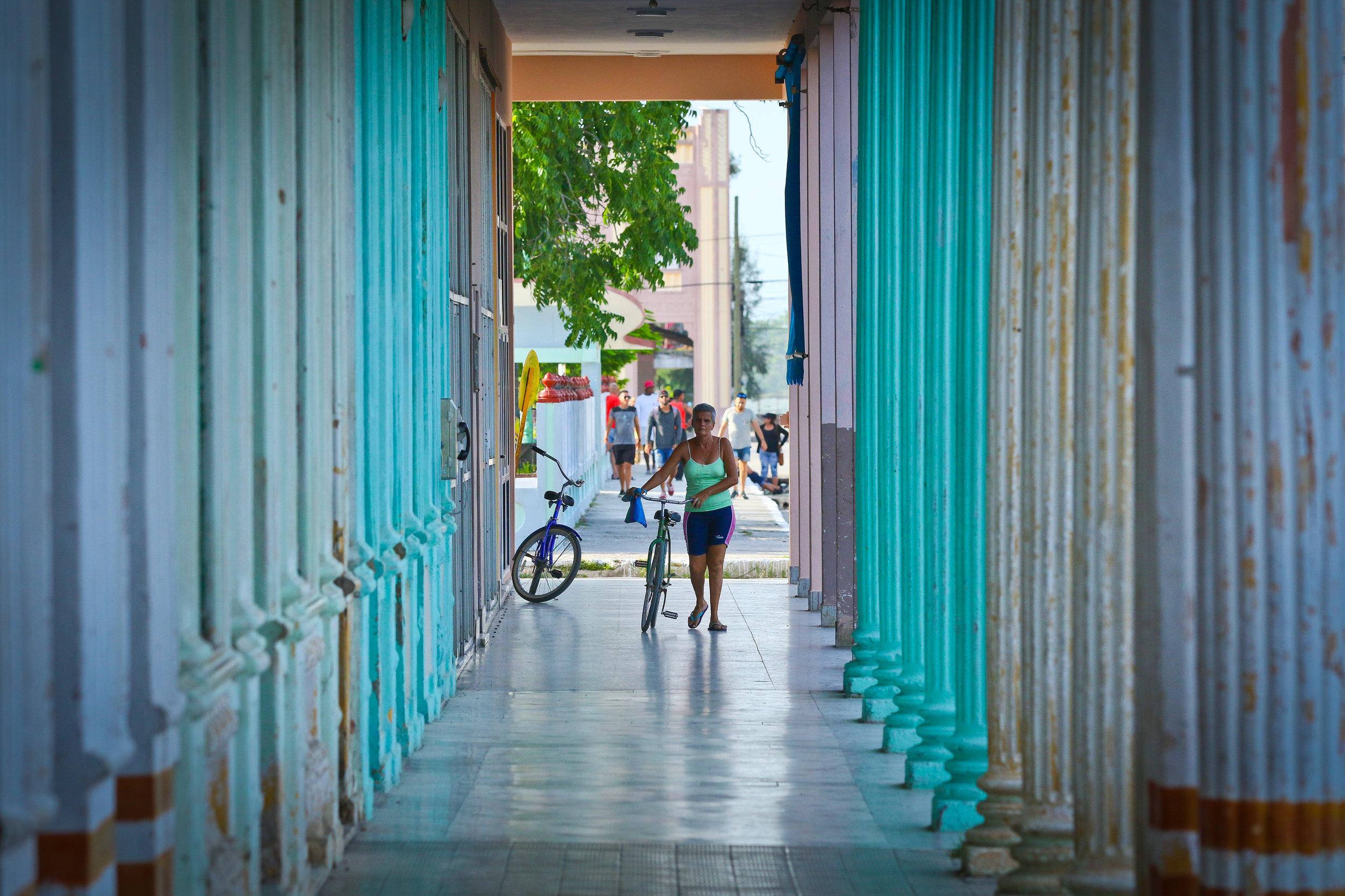 The colors of Cuba in a Havana neighborhood