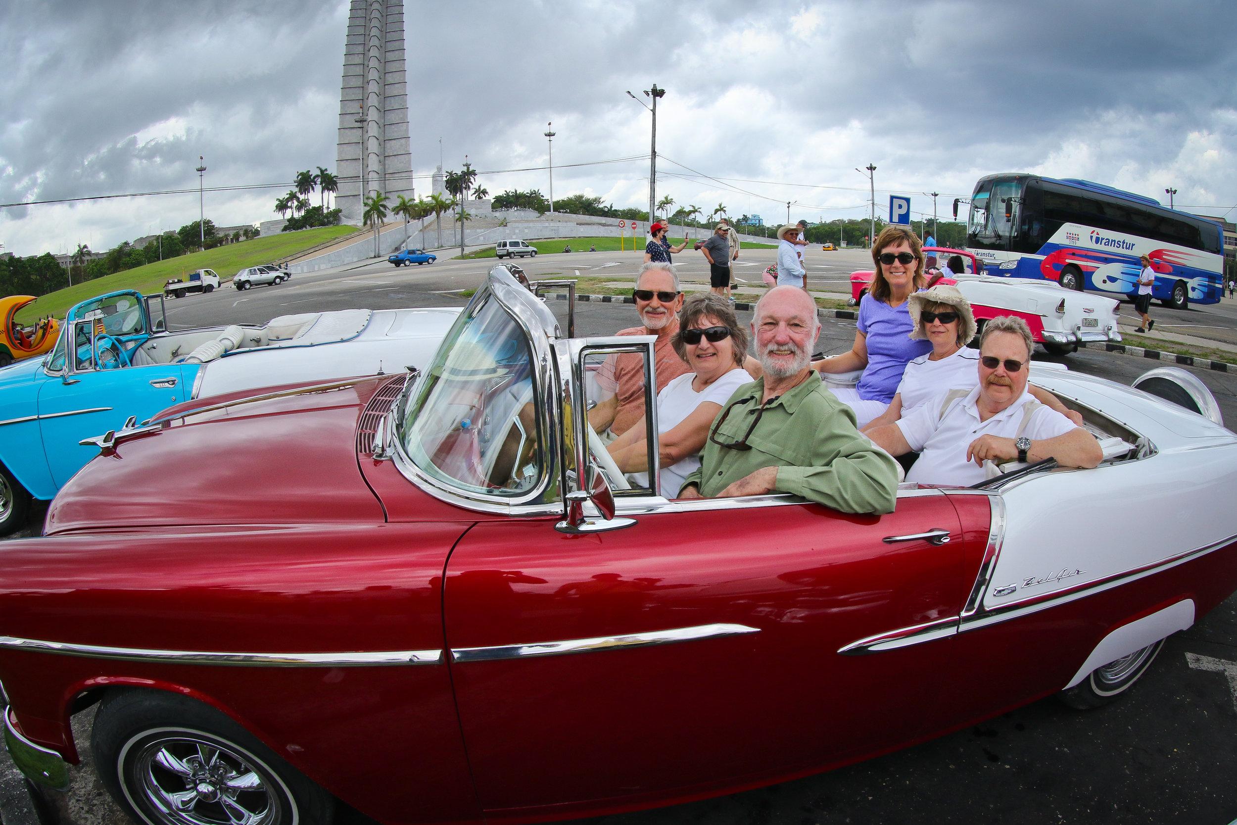 Guests enjoy Havana in an American classic