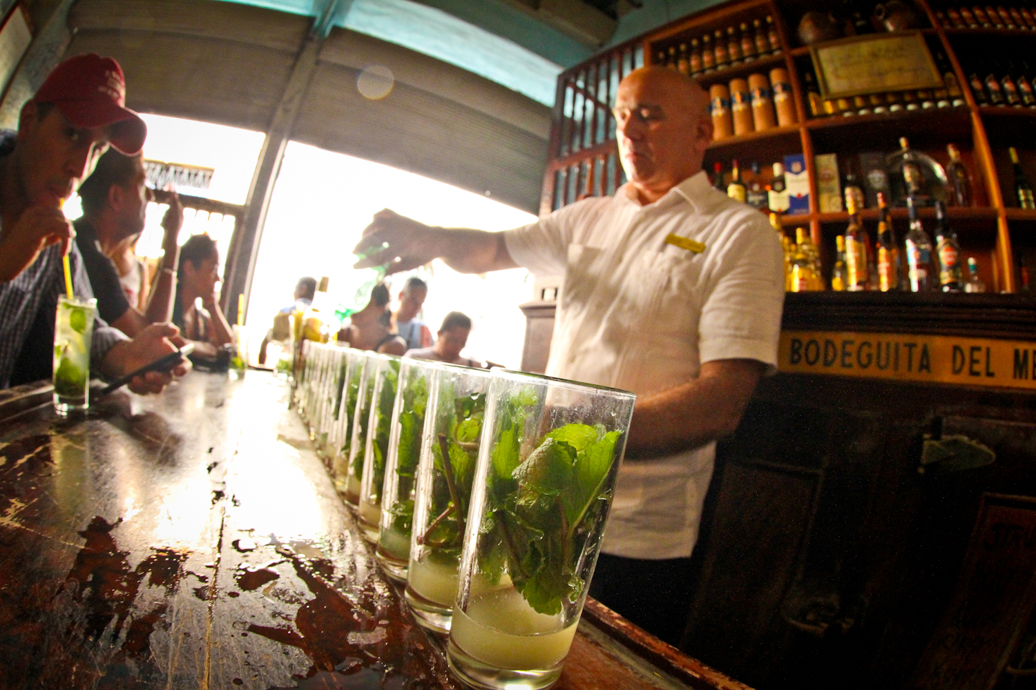 We started out in Havana, taking in a lot of sights in just two short days. Mojitos at La Bodegiuta del Medio are a must.