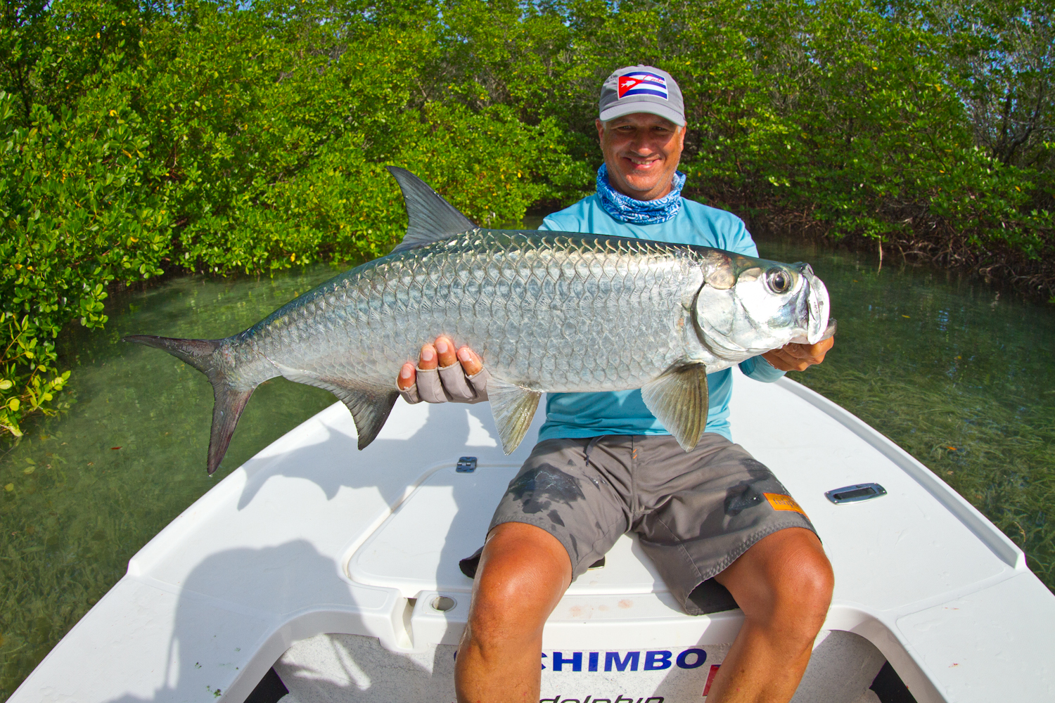 Great back-country Tarpon completed one of our Grand-Slams