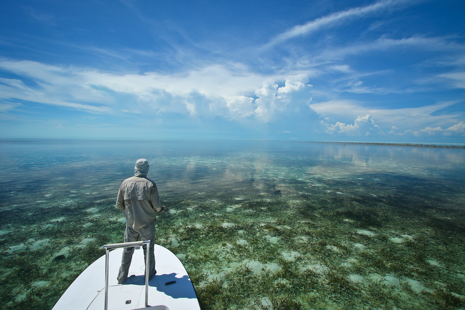 The immense eastern Bonefish/Permit flats