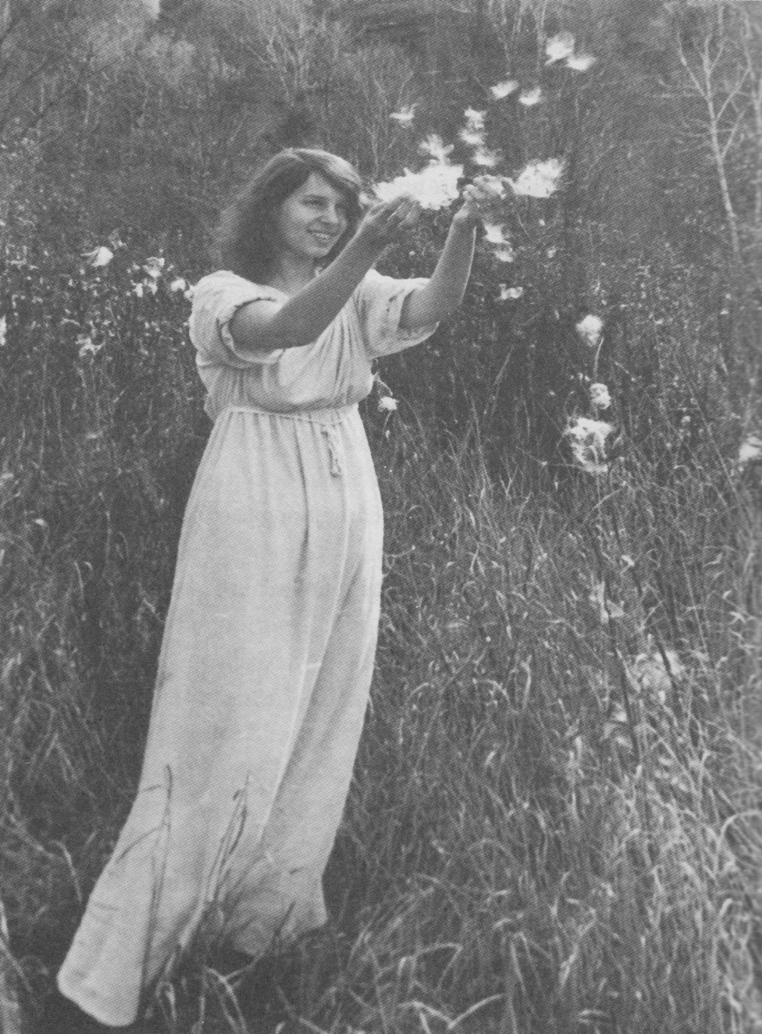 """Young Ladybelle Fiske - """"Born like a dreamin this dream of a world,How easy in mind I am,I who will fade awaylike the morning dew.""""- Zen Poem"""
