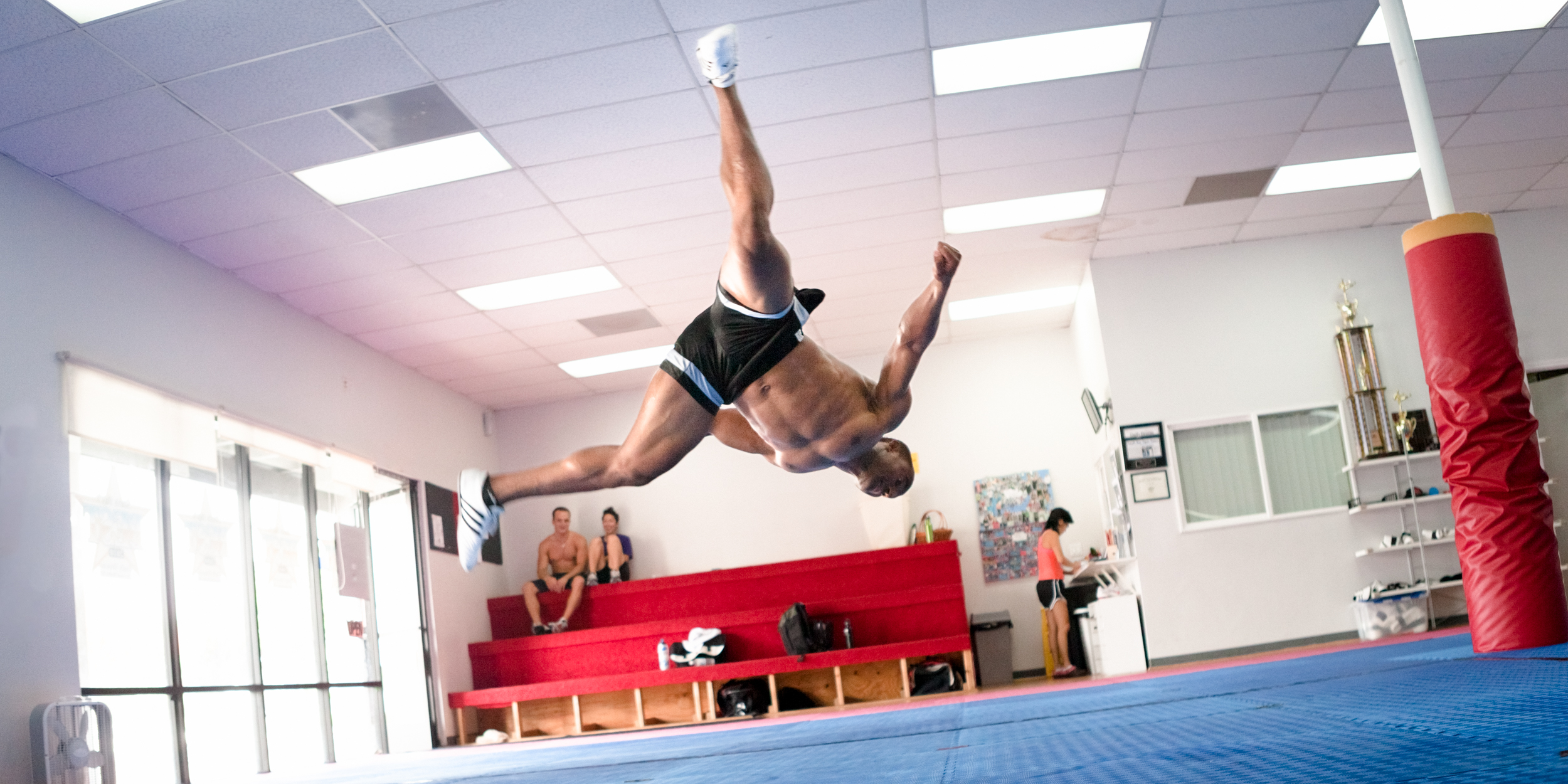 The Tae Kwon Do Olympian