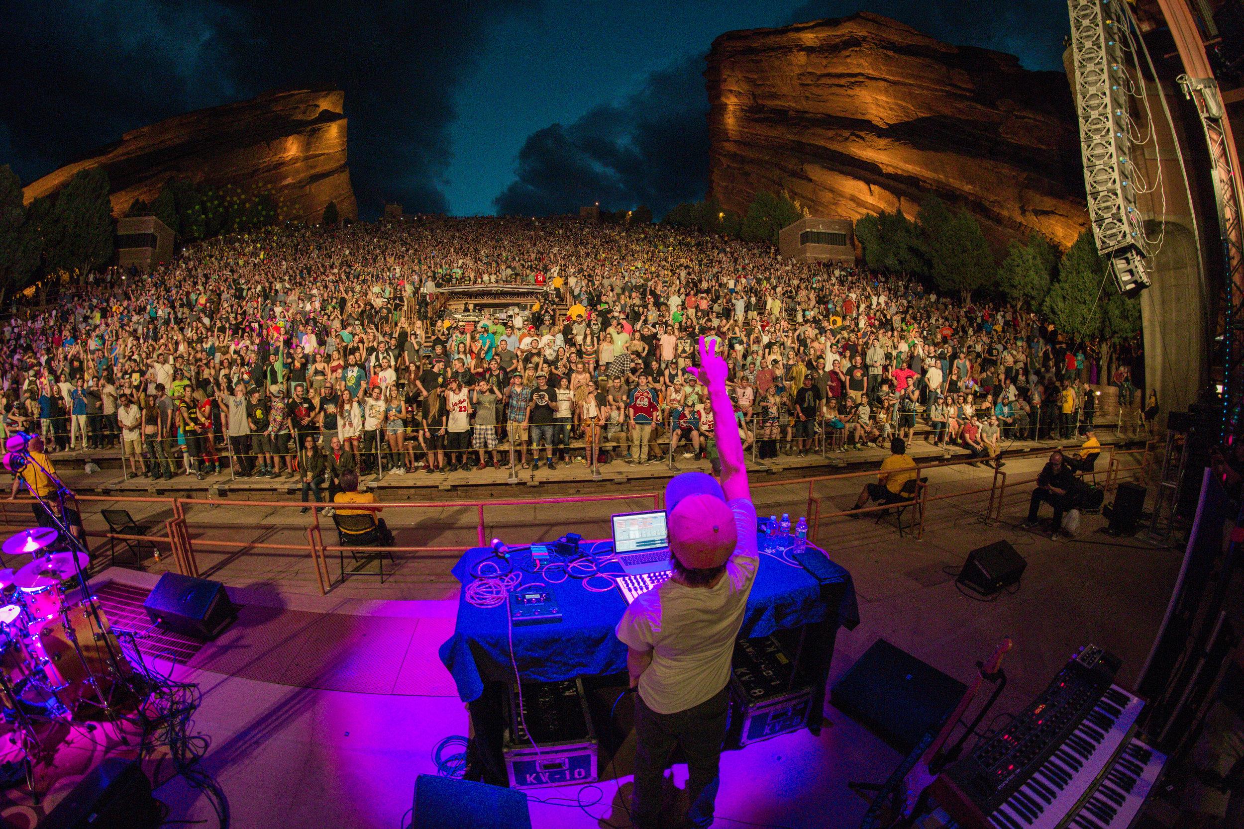 Marvel Years -  @marvelyears   Red Rocks - 8.12.16  Morrison, Colorado