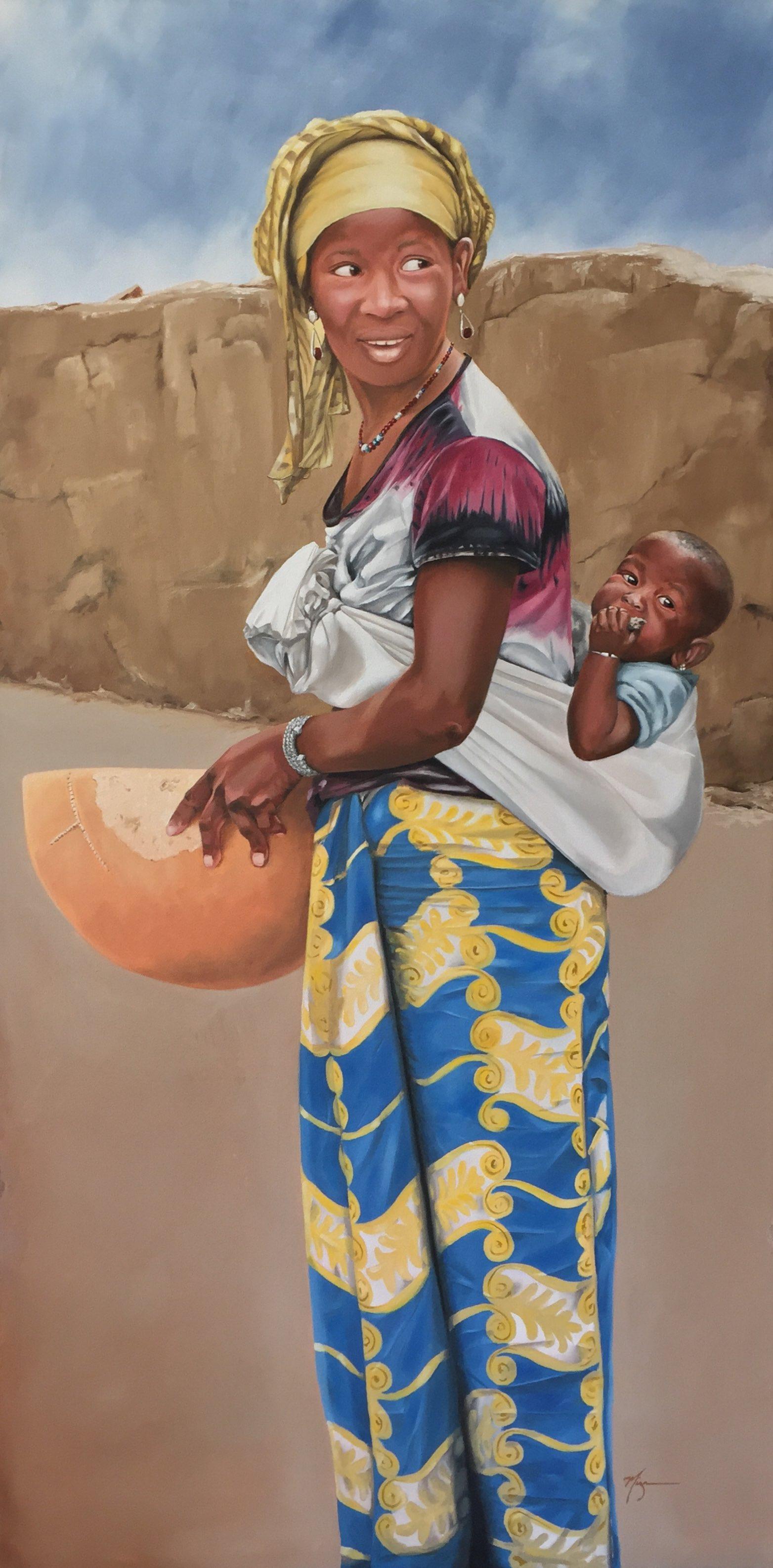 "Yirasunba  24""x48"" Oil on Canvas  $3154"