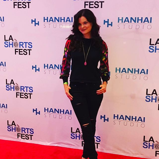 Had a great time @lashortsfest opening night! Can't wait for @theserenityfilm and #bigfoot screenings this Saturday!