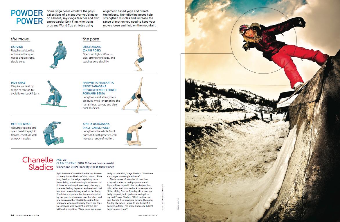 chanelle sladics yoga journal article