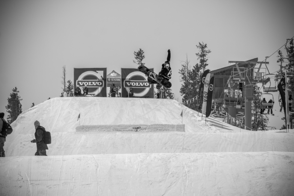 christy prior community cup keystone resport colorado snowboard contest method