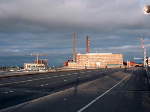 from Lauttasaari, towards central Helsinki