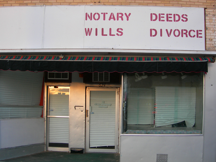 Notary Deeds Wills Divorce