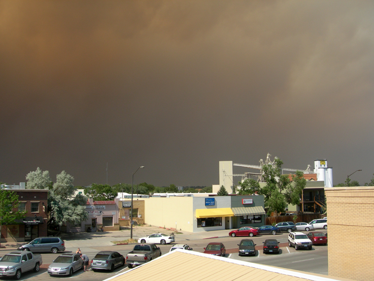 High Park Fire, 6/10/2012 / Fort Collins, CO