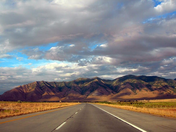 I-80 eastbound, from Wendover