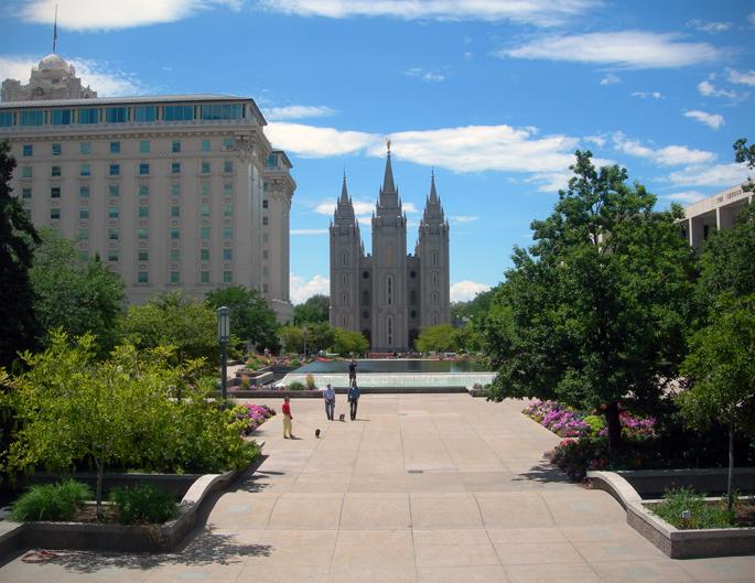 Temple Square / Salt Lake City, Utah