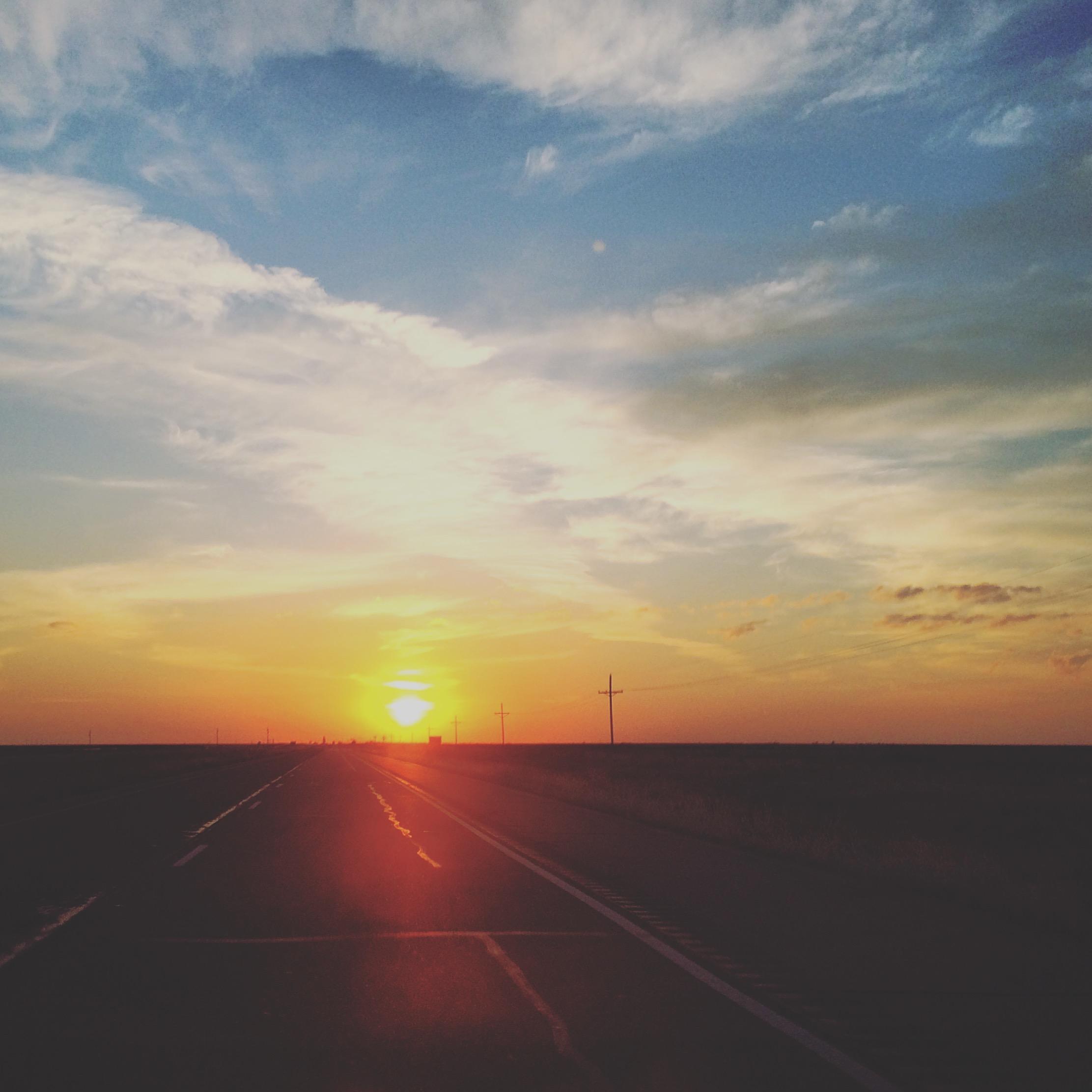 Big Texan sunrise