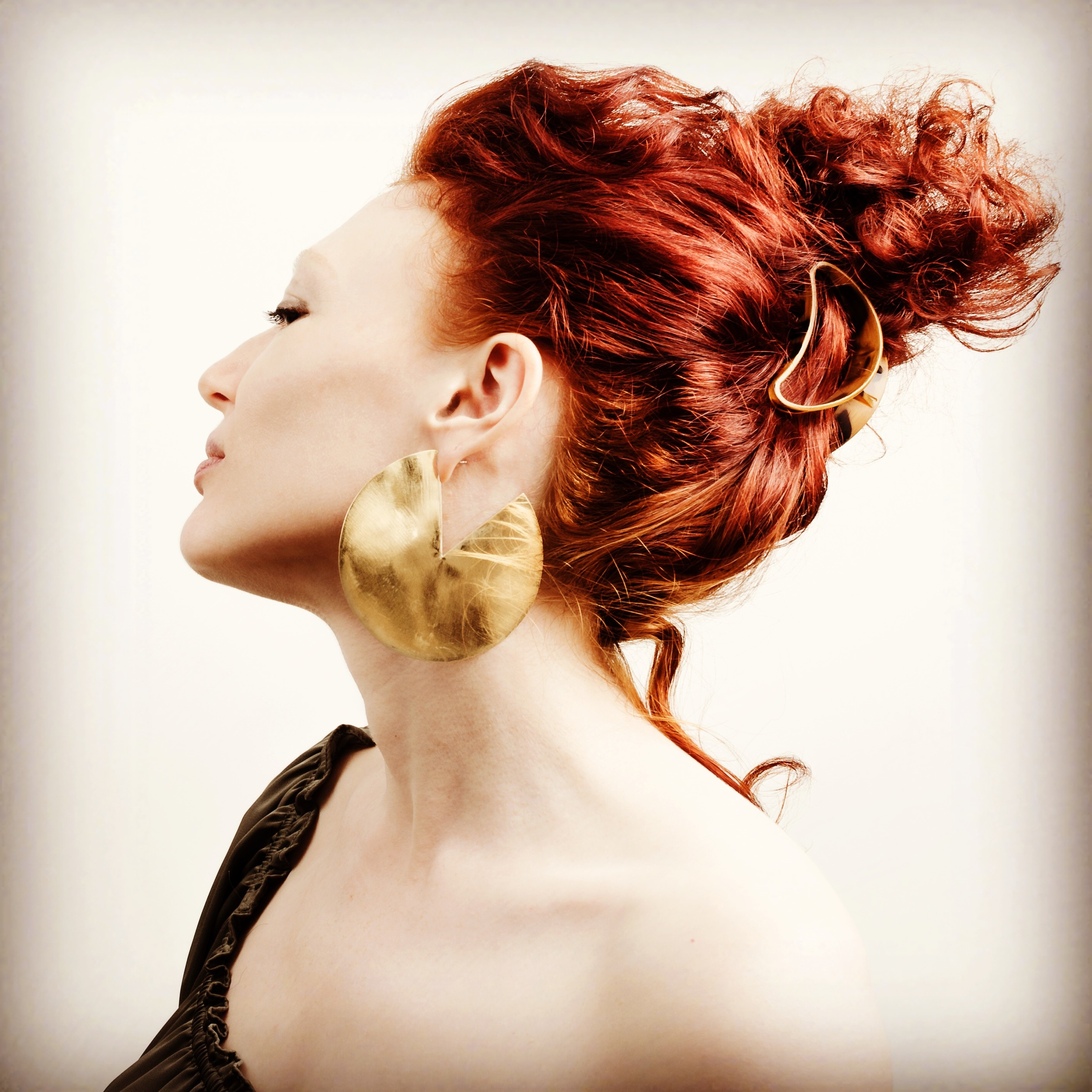 earrings by  Leslie Shershow