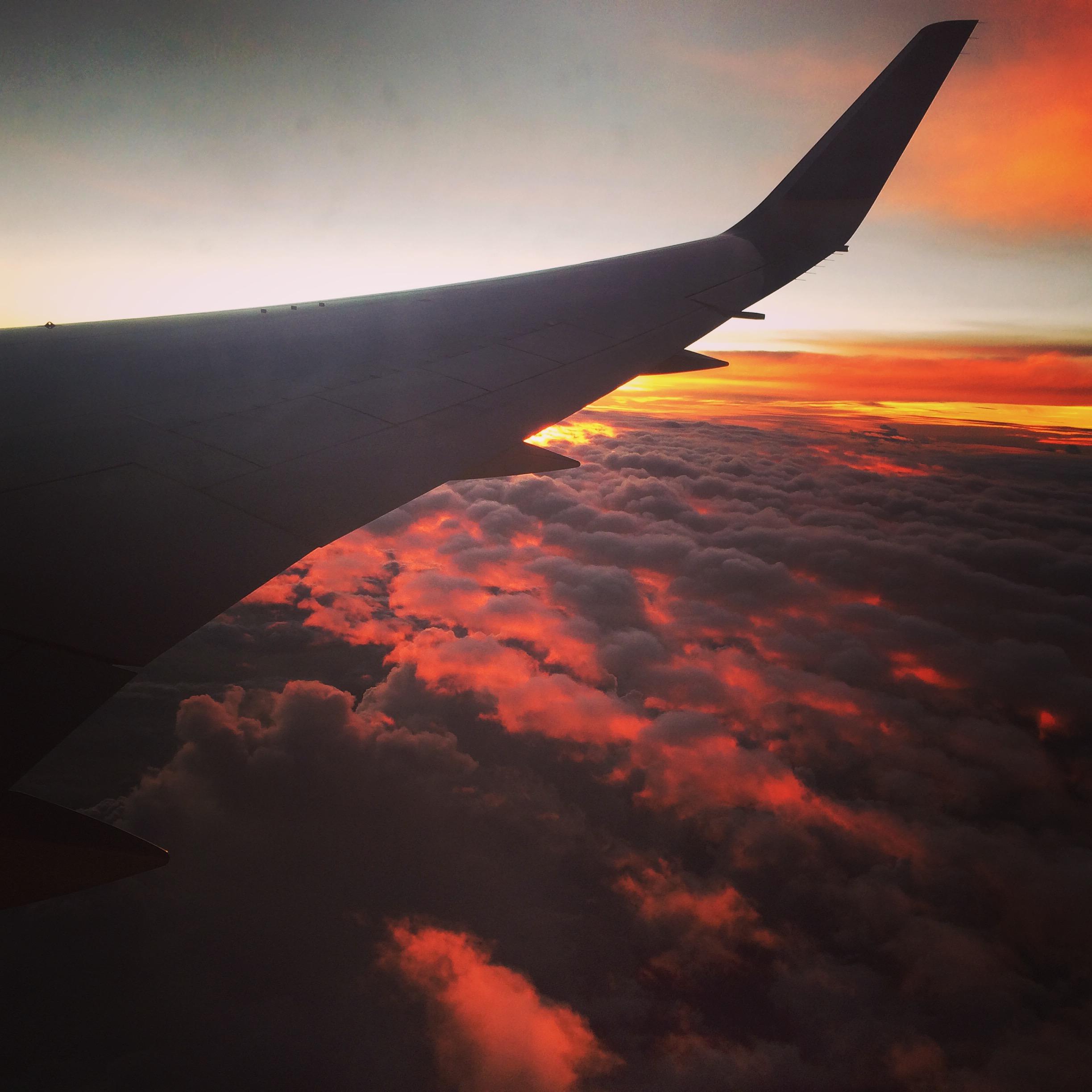 Departing Houston