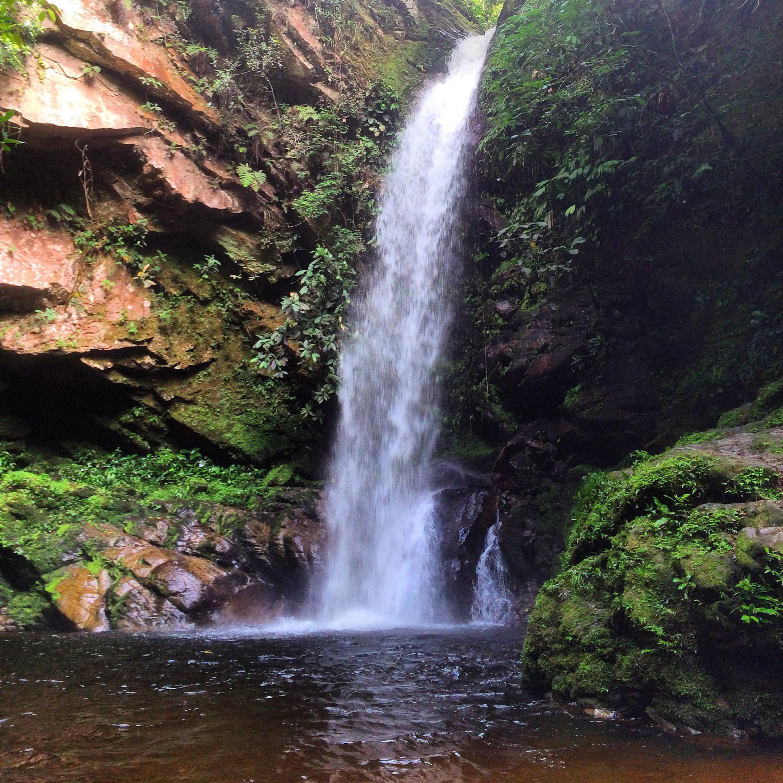 The source • Cataratas de Huacamaillo