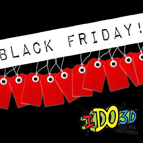 Work off those Thanksgiving meals from yesterday with some #BlackFriday shopping today! Don't forget to pick up an #IDO3DArt Print Shop while you're out!