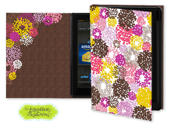 Josephine Kimberling's 'Disco Dots' Keka Case for tablet devices