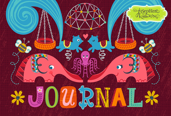 Close-up of Josephine Kimberling's journal entry for Lilla Rogers Global Talent Search