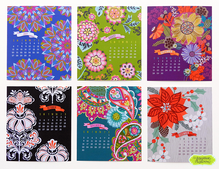 Josephine Kimberling's 2014 Desk Calendar Now Available in Her Etsy Shop! (josephinekimberling)